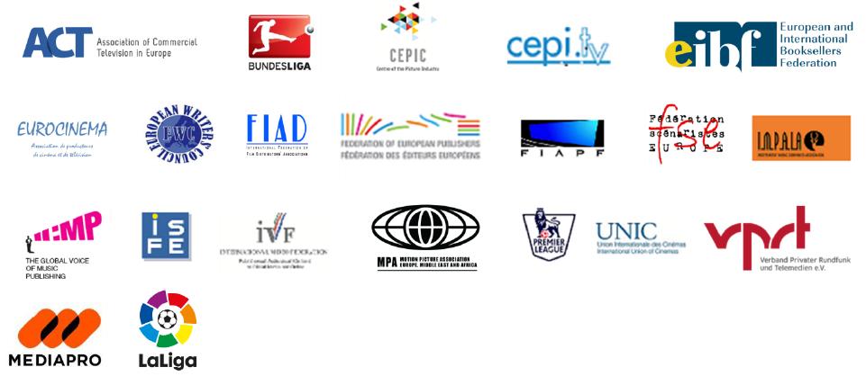 CW logos